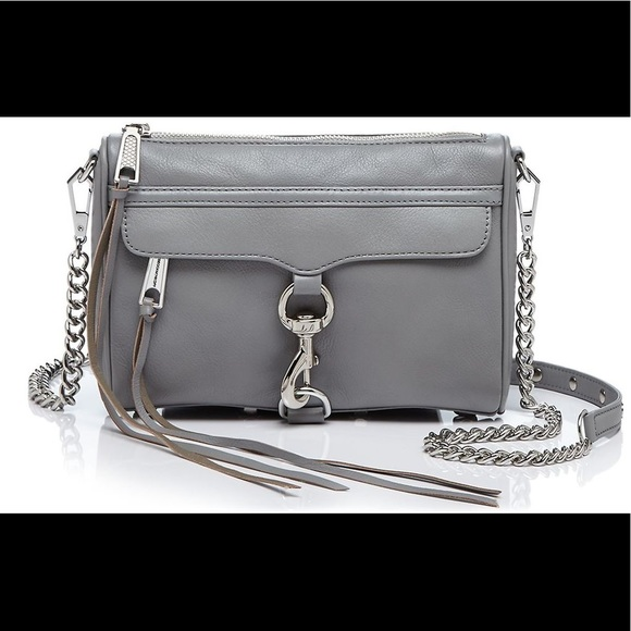 Rebecca Minkoff Handbags - Rebecca Minkoff Mini Mac in gray